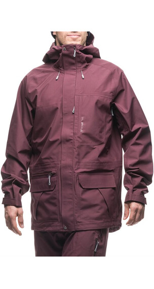 Houdini M's Corner Jacket Breaking Red